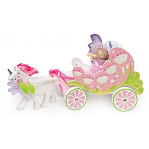 Le Toy Van Ξύλινη άμαξα με νεράιδα και μονόκερο, αμαξα, άμαξα, αμαξες, αμαξεσ πριγκιπισσες, πριγκιπισσα, πριγκιπισσες, ξυλινα παιχνιδια, παιχνιδια, παιχνιδια για κοριτσια, παιδικα παιχνιδια, pexnidia, paixndia, le toy van, le toy van greece, le toy van παιχνιδια, le toy van tv642