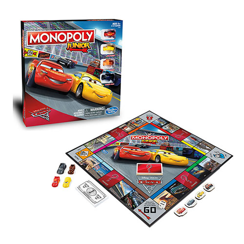Επιτραπέζιο Monopoly Cars 3 Junior – Hasbro