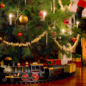 Χριστουγεννιάτικα Τρένα