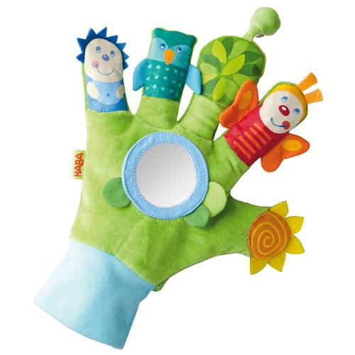 Haba Βρεφικό γάντι ανακάλυψης 'Ζωάκια'