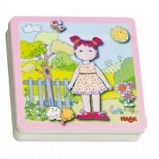 Haba 'Ντύνω την κούκλα' με μαγνήτες