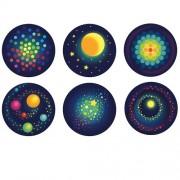 """Haba φωτάκι προβολάκι νυκτός """"Διάστημα 2D"""" 6 σχέδια"""