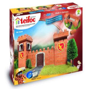 "Teifoc Χτίζοντας ""Κάστρο Ιπποτών"" (460τμx), teifoc, σετ κατασκευής, κατασκευή, κατασκευές, κατασκευες, κατασκευεσ, κατασκευη, φτιαξτο, παιδικες κατασκευες, ειδη χομπυ, kataskeues, teifoc 3600"