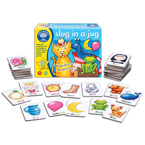 Orchard Toys Επιτραπέζιο παιχνίδι 'Γυμνοσάλιαγκας σε Κανάτα'