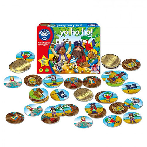 "Orchard Toys Επιτραπέζιο παιχνίδι ""Γιο-Χο-Χο"""