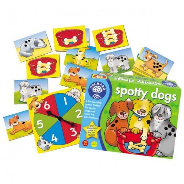 "Orchard Toys Προσχολικό Επιτραπέζιο παιχνίδι ""Σκυλάκια με βούλες"""