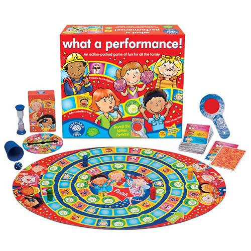 "Orchard Toys Επιτραπέζιο παιχνίδι ""Τι Παράσταση!"""