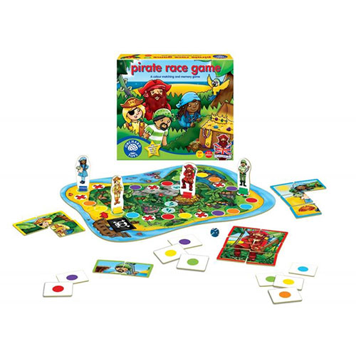 "Orchard Toys Επιτραπέζιο παιχνίδι ""Πειρατικοί Αγώνες"""