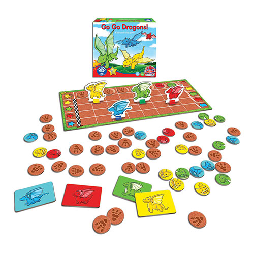 Orchard Toys Επιτραπέζιο παιχνίδι 'Κυνήγι Δράκων'