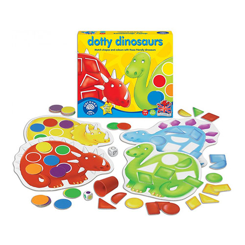 Orchard Toys Επιτραπέζιο παιχνίδι 'Οι Δεινόσαυροι'