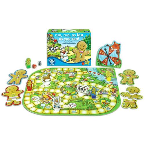 Orchard Toys Επιτραπέζιο παιχνίδι 'Τρέξε όσο πιο γρήγορα μπορείς!'