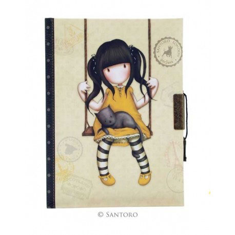 Santoro Gorjuss Σημειωματάριο ημερολόγιο με κλειδί «Ruby» 577GJ05
