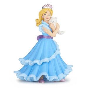 Papo Φιγούρα Μπλε Πριγκίπισσα με Γάτα, papo figures, παπο, figura, figures shop, φιγουρα, φιγούρα, φιγούρες, φιγουρες, Μινιατούρες Papo, papo greece, papo toys greece, μινιατούρες, φιγούρες δράσης, φιγουρες papo, μινιατουρες ζωων, φιγουρες ζωων, μινιατουρες κουκλοσπιτου, μινιατουρες galactic adventures, papo 39125