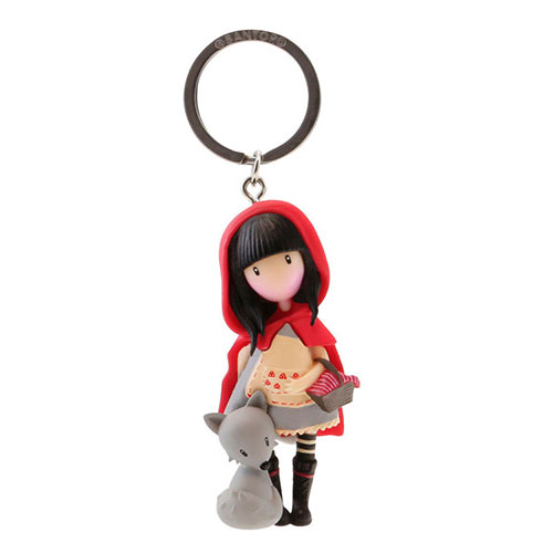 """Μπρελόκ Santoro gorjuss """"Little Red Riding Hood"""" 631GJ07"""