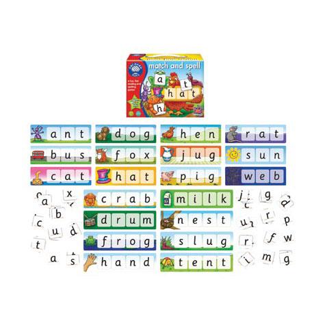 Orchard Toys Επιτραπέζιο παιχνίδι 'Ταιριάζω και Συλλαβίζω'