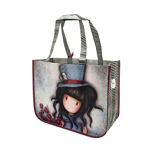 "Santoro gorjuss Τσάντα Shopping bag ""The hatter"" 253GJ09  742e9074ff9"