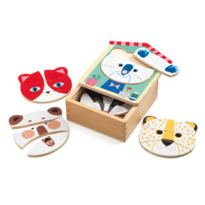 Djeco Ξύλινο Παζλ Συνδυασμών 'Ταιριάζω τα Πρόσωπα', pazl djeco, παζλ djeco, παιδικά παζλ, παζλ για παιδιά, pazl, puzzle, puzzles, παιχνίδια με παζλ, παζλ games, παζλ για κορίτσια, παζλ για παιδιά, παιδικά παιχνίδια, δώρα, δώρο, επιτραπέζια, παιχνίδια για κορίτσια, παιχνίδια για αγόρια, djeco, djeco παιχνίδια, djeco παζλ, djeco online shop, παιχνίδια djeco αθήνα, djeco θεσσαλονικη, djeco 01679