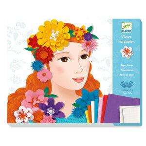 Djeco κατασκευή με χαρτί 'Λουλουδένια Κορίτσια΄, χειροτεχνίες, χειροτεχνίες για παιδιά, κατασκευές, καλλιτεχνικά, εκπαιδευτικά παιχνίδια, ζωγραφική, ζωγραφιές, παιδαγωγικά, εκπαιδευτικά, παιδαγωγικά παιχνίδια, καλλιτεχνικά, παιχνιδια, πεχνιδια, paixnidia gia koritsia, παιχνιδια για αγορια, paixnidia gia agoria, παιχνιδια για παιδια, παιδικα παιχνιδια, djeco, djeco παιχνίδια, djeco παζλ, djeco online shop, παιχνίδια djeco αθήνα, djeco θεσσαλονικη, djeco 09439