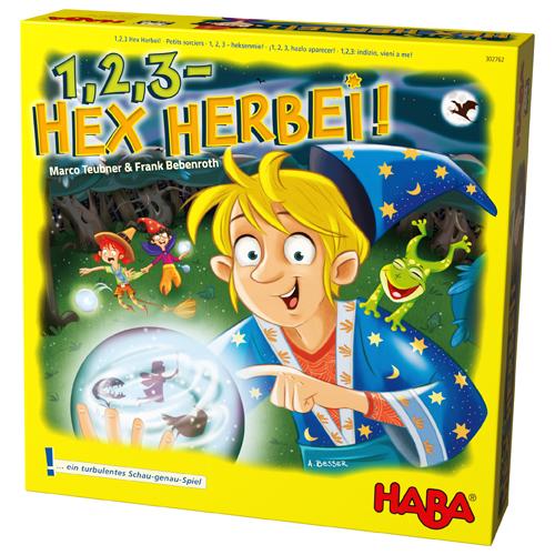 "Haba Επιτραπέζιο ""1,2,3 Διαγωνισμός Μικρών Μάγων"""