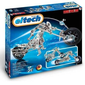 Eitech Μεταλλική κατασκευή 'Μοτοσυκλέτα', Eitech, eitech 00015, σετ κατασκευής, κατασκευή, κατασκευές, κατασκευες, κατασκευεσ, κατασκευη, φτιαξτο, παιδικες κατασκευες, ειδη χομπυ, kataskeues