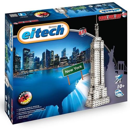 """Eitech Μεταλλική κατασκευή """"Empire State Building"""" (815 τμχ)"""