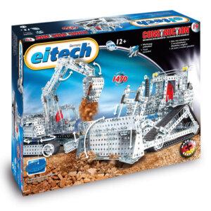 Eitech Μεταλλική κατασκευή 'Μπουλντόζα-ανασκαφέας', Eitech, eitech 00019, σετ κατασκευής, κατασκευή, κατασκευές, κατασκευες, κατασκευεσ, κατασκευη, φτιαξτο, παιδικες κατασκευες, ειδη χομπυ, kataskeues