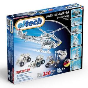 Eitech Σετ μεταλλικών κατασκευών 10 μοντέλων (340 τμχ), Eitech, eitech 00300, σετ κατασκευής, κατασκευή, κατασκευές, κατασκευες, κατασκευεσ, κατασκευη, φτιαξτο, παιδικες κατασκευες, ειδη χομπυ, kataskeues