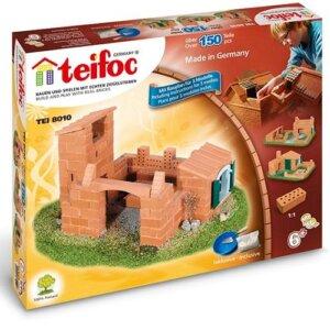 Teifoc Κατασκευή-χτίσιμο με πραγματικά τουβλάκια, teifoc, σετ κατασκευής, κατασκευή, κατασκευές, κατασκευες, κατασκευεσ, κατασκευη, φτιαξτο, παιδικες κατασκευες, ειδη χομπυ, kataskeues, teifoc 8010
