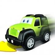 Bburago Junior Αυτοκινητάκι «Jeep Wrangler» Touch & Go με ήχο