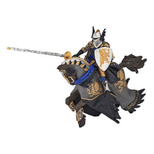 Papo Φιγούρα Πρίγκηπας Μαύρος Δράκος με Άλογο, papo figures, παπο, figura, figures shop, φιγουρα, φιγούρα, φιγούρες, φιγουρες, Μινιατούρες Papo, papo greece, papo toys greece, μινιατούρες, φιγούρες δράσης, φιγουρες papo, μινιατουρες ζωων, φιγουρες ζωων, μινιατουρες κουκλοσπιτου, μινιατουρες galactic adventures, papo 36001