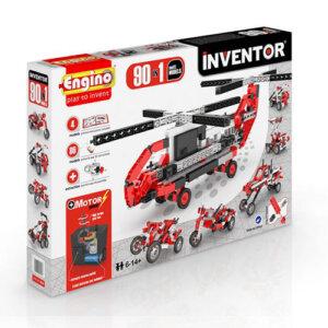 Engino INVENTOR 90 MODELS MOTORIZED SET, playmobil, plan toys, engino toys, engino robotics, toys cyprus, engino cyprus, engino παιχνιδια, παιχνιδια κατασκευων για κοριτσια, παιχνιδια κατασκευων για αγορια, ρομποτική, ρομποτική για παιδιά, έξυπνα παιχνίδια, εκπαιδευτικά παιχνίδια για παιδιά, εκπαιδευτικά, παιδαγωγικά, επιστημονικά παιχνίδια, paixnidia, pexndia, παιχνιδια, παιχνίδια, παιδικα παιχνιδια, παιχνίδια για κορίτσια, παιχνιδια για κοριτσια, παιχνιδια για αγορια, παιχνιδια για παιδια, engino, engino inventor