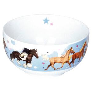 """Μπολ """"Horse Friends"""", μπολ, bowl, παιδικά πιάτα, παιδικό πιάτο, σετ φαγητού, παιδικά σετ φαγητού, δωρο, δώρο, δώρα, δωρα, παιδικά δώρα, δώρα για παιδιά, spiegelburg, spiegelburg 14552"""
