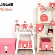Les Déglingos Λούτρινο To φλαμίνγκο Flamingos (Simply) με κουτί