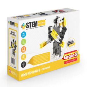 Engino SPACE EXPLORERS: CRONOS, playmobil, plan toys, engino toys, engino robotics, toys cyprus, engino cyprus, engino παιχνιδια, παιχνιδια κατασκευων για κοριτσια, παιχνιδια κατασκευων για αγορια, ρομποτική, ρομποτική για παιδιά, έξυπνα παιχνίδια, εκπαιδευτικά παιχνίδια για παιδιά, εκπαιδευτικά, παιδαγωγικά, επιστημονικά παιχνίδια, paixnidia, pexndia, παιχνιδια, παιχνίδια, παιδικα παιχνιδια, παιχνίδια για κορίτσια, παιχνιδια για κοριτσια, παιχνιδια για αγορια, παιχνιδια για παιδια, engino, engino sh23