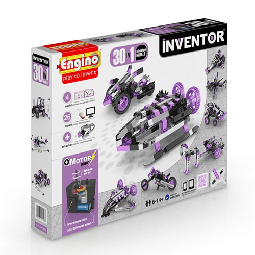 Engino 30 MODELS MOTORIZED SET (ADVENTURE MODELS)