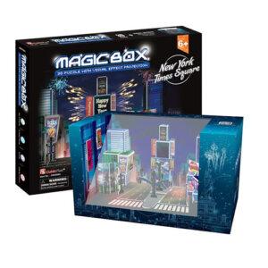 Παζλ 3D Magic Box NY Times Square 30 τμχ (OM3608H), 3D παζλ, 3D puzzle, 3D pazl, παζλ, pazl, puzzle, 3D puzzle, 3D παζλ, παζλ, puzzles, τανκ 3D, παιδικά παιχνίδια, παιχνίδια, παιχνιδια, παιχνίδια για κορίτσια, παιχνίδια για αγόρια, επιτραπέζια, παιχνίδια με παζλ, δώρα, δώρο, cubic fun toys, OM3608H