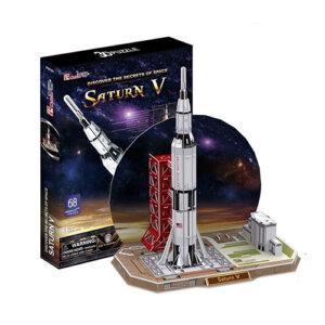Παζλ 3D Saturn V 68 τμχ (P653h), 3D παζλ, 3D puzzle, 3D pazl, παζλ, pazl, puzzle, 3D puzzle, 3D παζλ, παζλ, puzzles, τανκ 3D, παιδικά παιχνίδια, παιχνίδια, παιχνιδια, παιχνίδια για κορίτσια, παιχνίδια για αγόρια, επιτραπέζια, παιχνίδια με παζλ, δώρα, δώρο, cubic fun toys, P653h