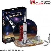 Παζλ 3D Saturn V 68 τμχ (P653h)