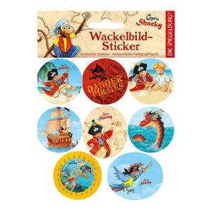 """Αυτοκόλλητα Lenticular """"Sharky"""", αυτοκόλλητα, αυτοκολλητα, αυτοκολιτα, αυτοκολητα, καλλιτεχνικά, καλλιτεχνικα, παιχνιδια, παιχνίδια για παιδιά, παιδικά παιχνίδια, δώρα, δώρο, δωρα, δωρο, pexnidia, paixnidia, spiegelburg 21269"""