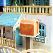 Παζλ 3D Rural Villa Dollhouse 132 τμχ (P635h)