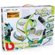Bburago Σετ αυτοκινητόδρομου με σήραγγα «Gogears Super Spin Speedway» 18-30286