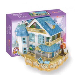 Παζλ 3D Rural Villa Dollhouse 132 τμχ (P635h), 3D παζλ, 3D puzzle, 3D pazl, παζλ, pazl, puzzle, 3D puzzle, 3D παζλ, παζλ, puzzles, τανκ 3D, παιδικά παιχνίδια, παιχνίδια, παιχνιδια, παιχνίδια για κορίτσια, παιχνίδια για αγόρια, επιτραπέζια, παιχνίδια με παζλ, δώρα, δώρο, cubic fun toys, P635h