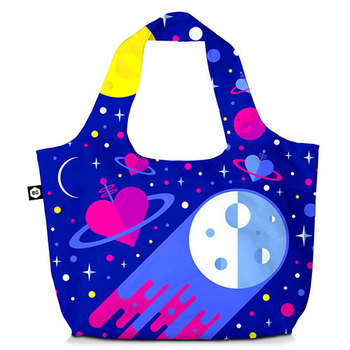 BG Berlin Τσάντα ώμου 3 Σε 1 Cosmic Love Eco Bag