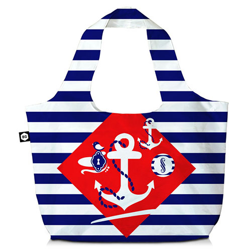 BG Berlin Τσάντα ώμου 3 Σε 1 Navy Sense Eco Bag
