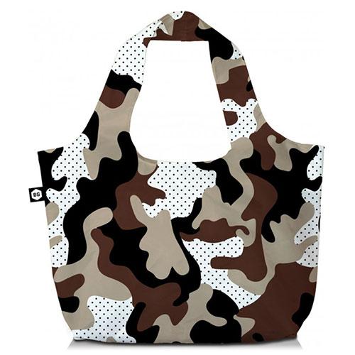 BG Berlin Τσάντα ώμου 3 Σε 1 Camu Safari Eco Bag