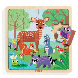 Djeco Ξύλινο Παζλ 'Δάσος' (16 τμχ), pazl djeco, παζλ djeco, παιδικά παζλ, παζλ για παιδιά, pazl, puzzle, puzzles, παιχνίδια με παζλ, παζλ games, παζλ για κορίτσια, παζλ για παιδιά, παιδικά παιχνίδια, δώρα, δώρο, επιτραπέζια, παιχνίδια για κορίτσια, παιχνίδια για αγόρια, djeco, djeco παιχνίδια, djeco παζλ, djeco online shop, παιχνίδια djeco αθήνα, djeco θεσσαλονικη, djeco 01812
