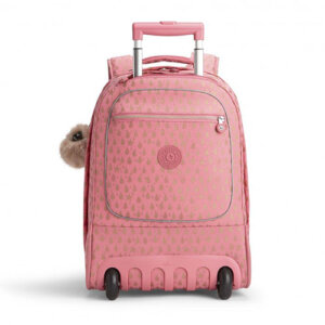 6876f99065f Kipling Τροχήλατο σακίδιο πλάτης με θήκη για Laptop Clas Soobin L (Pink  Gold Drop)
