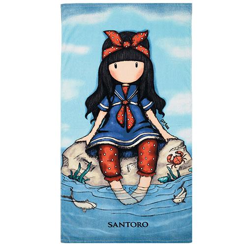 "Santoro Gorjuss Πετσέτα Θαλάσσης ""Little Fishes""  2f3935d7fc4"