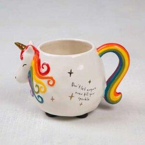 "Natural Life Κεραμική Κούπα Μονόκερος ""Don't Dull Your Sparkle"", γυναικεια, koypes, γυναικειο, φλυτζανι καφε συμβολα, κεικ σε κουπα, καφε για διαβασμα, flitzani, σετ τσαγιου, φλυτζανι τσαγιου, κουπα καφε, φλυτζανια, φλυτζανι καφε, φλιτζάνι, κουπεσ, κουπεσ καφε, φλυτζανι, φλυτζανια τσαγιου, φλυτζανια καφε, koupes, φλιτζανια, δωρα, δωρο πασχα, πρωτοτυπο, δωρο χριστουγεννων, δωρα χριστουγεννων, δωρα γενεθλιων, χριστουγεννιατικα δωρα, πρωτοτυπα δωρα, δωρα για το σπιτι, τι δωρο να παρω στην κολλητη μου, χειροποιητα χριστουγεννιατικα δωρα, δωρα γενεθλιων για φιλη, το καλυτερο δωρο, ιδέεσ για δώρα γενεθλίων, natural life, natural life greece, graffiti, graffiti 51707"