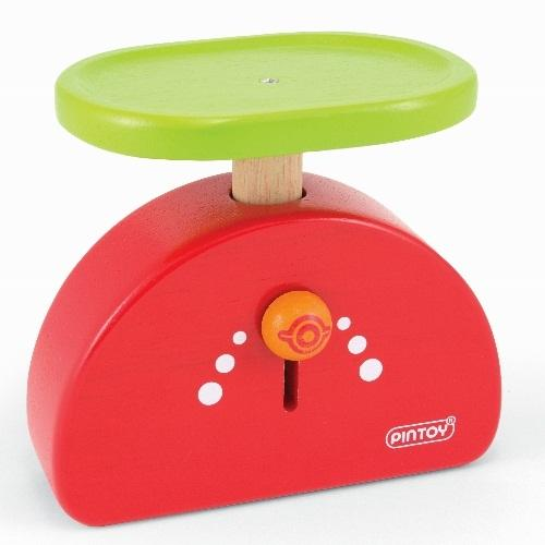 Pin Toys Ξύλινη ζυγαριά